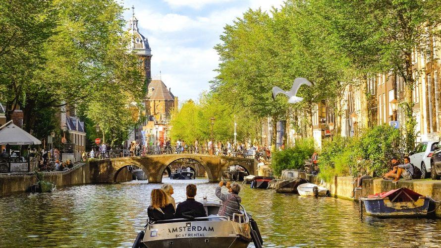 ヒッピーが集まる自由の国オランダ!運河の町アムステルダムの見どころ7選